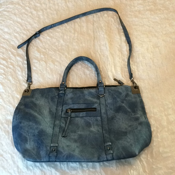 b43d35c9a6 Steve Madden Bags | Bag With Strap And Handle Denim Look | Poshmark